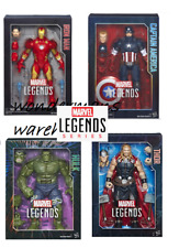 Marvel Legends Series 12-inch Iron Man/Captain America -Brand New & Boxed
