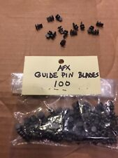 Aurora slot car AFX guide pins single blade 100 piece bag