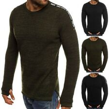 ozonee Breezy 9040 Hommes Pull à manches longues SWEAT MOULANT