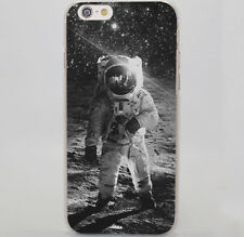 Astronaut Space Travel On The Moon Hard Case Cover For iPhone Samsung Huawei