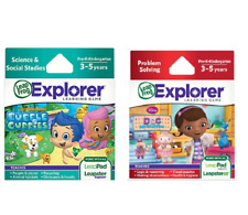 Leapfrog Explorer Learning Game - Bubble Guppies/Doc McStuffins -Brand New