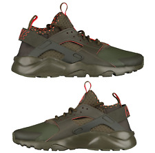 Nike Air Huarache Run Ultra Sneakers Men's Lifestyle Shoes Cargo Khaki