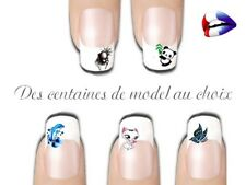 water decal stickers ongles nail art manucure vernis gel série Animaux Au choix