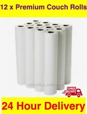 "LUXURY Premium White 20"" Couch Hygiene Roll - (12 Rolls Per Box) + FAST DELIVERY"
