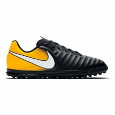 Nike Jr. TiempoX Rio IV (TF) Astro Turf Trainers - Black/Laser Orange