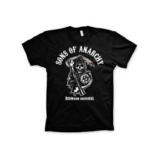 Officially Licensed Sons of Anarchy- Redwood Original Men's T-Shirt S-XXL Sizes