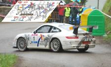 Calcas Porsche 997 Rally Cantabria Infinita 2009 1:32 1:43 1:24 1:18 87 decals