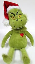 Dr. Seuss The GRINCH Who Stole Christmas 14 Inch GRINCH Plush Doll -