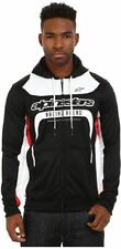 Alpinestars Session fleece felpa uomo con zip Nero