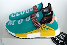 Adidas Pharrell Human Race HU NMD Trail Teal Green Sun Glow 5 7 8 11 10 12 New