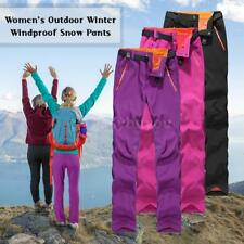 Women Outdoor Hiking Camping Pants Sport Trousers Tactical Waterproof Pants L6F9
