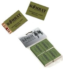 KOMBAT UK EMERGENCY STORM WATERPROOF MATCHES SAS SF TA BUSHCRAFT SURVIVAL FIRE