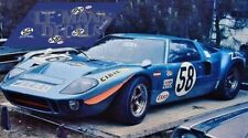 Calcas Ford GT40 Le Mans Test 1969 58 1:32 1:43 1:24 1:18 64 87 MkII decals