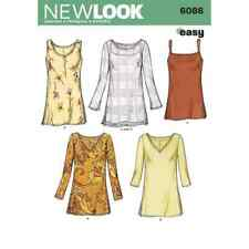 New Look Sewing Pattern 6086 Misses Tops