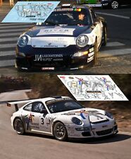 Calcas Porsche 997 Rally Sierra Morena 2009 1:32 1:43 1:24 18 87 Vallejo decals