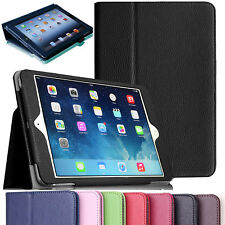 Premium PU Leather Magnetic Smart Stand Cover Case For Apple iPad Air 2 / iPad 6