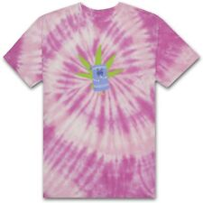 HUF X SOUTH TOWELIE TIE-DYE  TEE SHIRT PINK