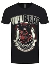 Volbeat Red King Men's Black T-shirt