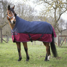 Equi-Théme Tyrex 1200D High Neck 300g - marineblau/bordeauxrot