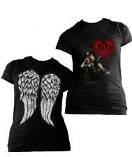 Camiseta chica Daryl Dixon love. The Walking Dead