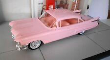 1959 CADILLAC 4 DOOR PROMO MODEL CAR.  1/25 SCALE  AWESOME CAR!!!  PINK INTERIOR