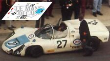 Calcas Porsche 910 Le Mans 1971 27 1:32 1:43 1:24 1:18 slot decals