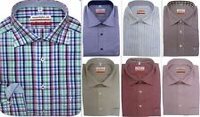 Mens Shirt Marvelis Slim Tailored Modern Fit Non Iron Cotton Long Sleeve No2