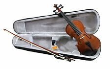 RayGar Natural Violin Beginner Student Pack Package Outfit + Case, Bow and Rosin