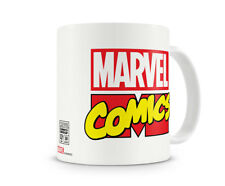 Officially Licensed Merchandise Marvel Comics Logo Coffee Mug