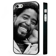 Barry White Soul Singer BLACK PHONE CASE COVER fits iPHONE