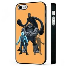 FANTASTIC FOUR MARVEL REDESIGNED BLACK PHONE CASE COVER fits iPHONE