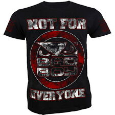 T-Shirt Bad Boy Not For Everyone - Red - Limited Edition Homme MMA Fitness Train
