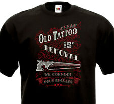 T-SHIRT OLD TATTOO REMOVAL - Tatouage Old School Retro Style Vintage Hipster Fun