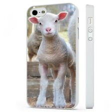 Cute Baby Lamp Sheep Calf WHITE PHONE CASE COVER fits iPHONE