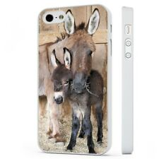 Donkey Cute Horse Foal Animals WHITE PHONE CASE COVER fits iPHONE