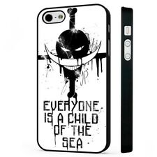 One Piece Anime Manga Quote BLACK PHONE CASE COVER fits iPHONE