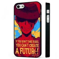One Piece Luffy Anime Art Manga BLACK PHONE CASE COVER fits iPHONE