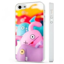 Funny Monsters Colourful Cartoon WHITE PHONE CASE COVER fits iPHONE