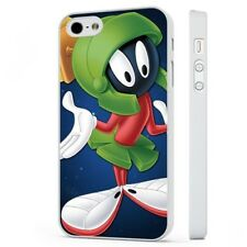 Marvin Martian Tooney Tunes WHITE PHONE CASE COVER fits iPHONE