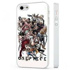 One Piece Anime Manga Collage WHITE PHONE CASE COVER fits iPHONE
