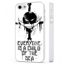 One Piece Anime Manga Quote WHITE PHONE CASE COVER fits iPHONE
