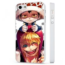 One Piece Corazon Anime Manga WHITE PHONE CASE COVER fits iPHONE