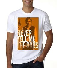 NEW  STAR WARS HAN SOLO NEVER TELL ME THE ODDS T-SHIRT