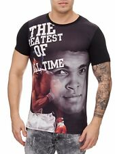 Muhammad Ali T-Shirt Black Felpa Schwergewicht CHAMPION Mainstream MODA