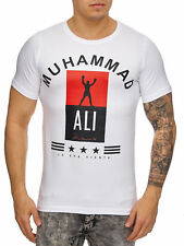 Muhammad Ali T-Shirt White USA BOX CHAMPION LEGGENDA Felpa Mainstream MODA
