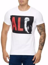 Muhammad Ali T-Shirt White Felpa USA Schwergewicht CHAMPION Mainstream MODA