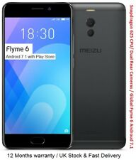 "Meizu M6 Note 64GB Smartphone 5.5"" Snapdragon 625 CPU 4GB RAM Android 7.1 NEW"