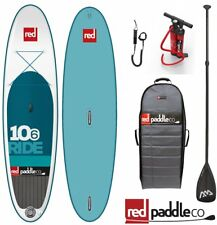 Red Paddle Ride Windsurf Set 10.6' Stand Up Paddle Tabla de surf