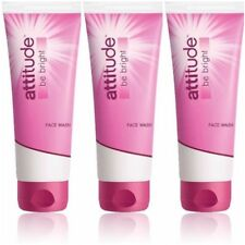Pack of 3/2/1 Amway Attitude Be Bright Face Wash 100 ml