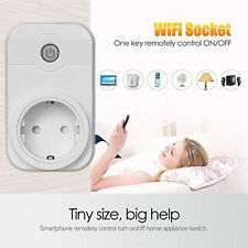 Phone APP Remote Control Timer Timing Switch WiFi Smart Power Socket Outlet WB7